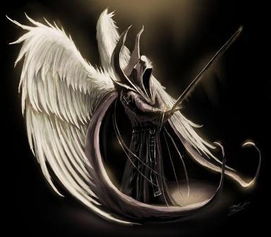Este soy. Un Angel Negro.